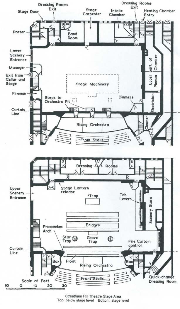 Build Playhouse Theatre London Plan DIY PDF types and uses