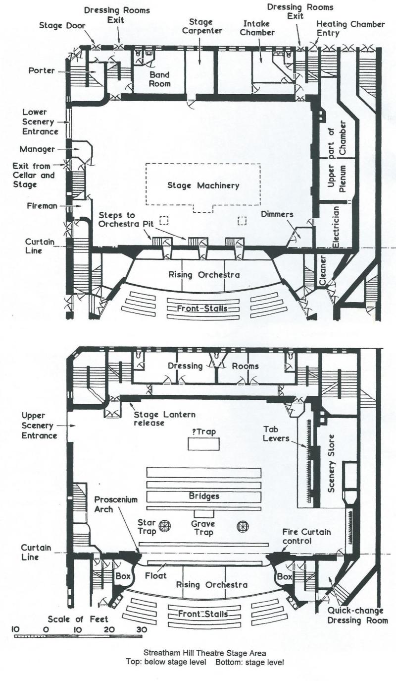 playhouse theatre london plan