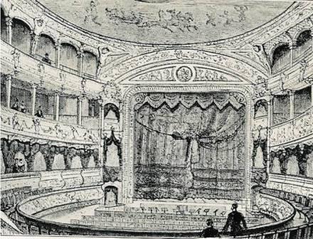 Empire auditorium 1884-1928