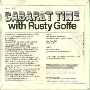 Rusty GoffeVinyl