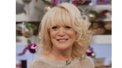 EDITORIAL USE ONLY / NO MERCHANDISING Mandatory Credit: Photo by Steve Meddle/REX (2021498y) Sherrie Hewson Let's Do Christmas Lunch with Gino and Mel' TV Programme, London, Britain - 14 Dec 2012
